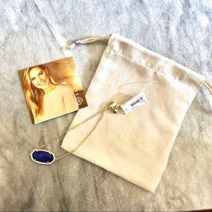 Kendra Scott Daisy Gold Bracelet In Cobalt